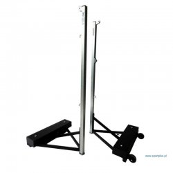 Stojaki do badmintona przejezdne na kółkach, z obciążeniem 30 kg