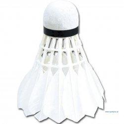 Badmintonový košík S-y 920828, biele pierka