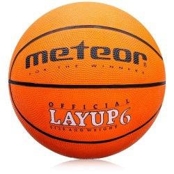 Piłka do koszykówki Meteor Layup (rozmiar 6)