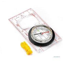 Kompas 71007 z linijką, duży
