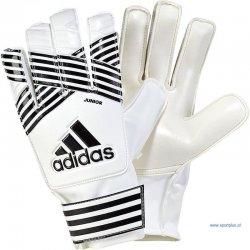 Rękawice bramkarskie Adidas Ace Junior, kolor biały (rozmiar 8)