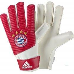Rękawice bramkarskie Adidas FC Bayern Lite, kolor czerwony (rozmiar 8)