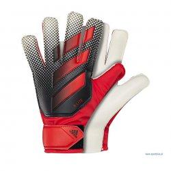 Rękawice bramkarskie Adidas X Lite, kolor czarno-czerwony (rozmiar 6)
