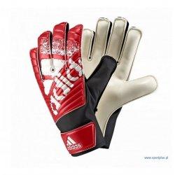 Rękawice bramkarskie Adidas X Lite, kolor czerwony (rozmiar 8)
