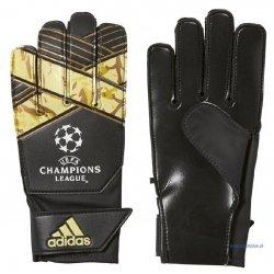 Rękawice bramkarskie Adidas Young Pro Ucl, kolor czarny (rozmiar 8)