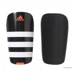 Ochraniacz piłkarski Adidas Everlesto, kolor czarno-biały (rozmiar S)