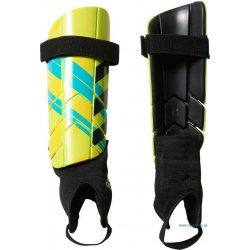 Ochraniacz piłkarski Adidas Ghost Reflex, kolor żółto-niebieskie (rozmiar L)