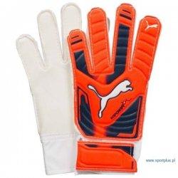 Rękawice bramkarskie Puma evoPower Grip , kolor pomarańczowy (rozmiar 7)
