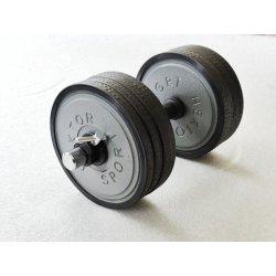 Jednoručná činka nastaviteľná 4-26 kg