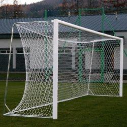 Bramki do piłki nożnej 7,32 x 2,44 m - treningowe, aluminiowe, przenośne