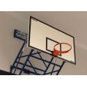 Basketbalové konštrukcie interiérové stenové