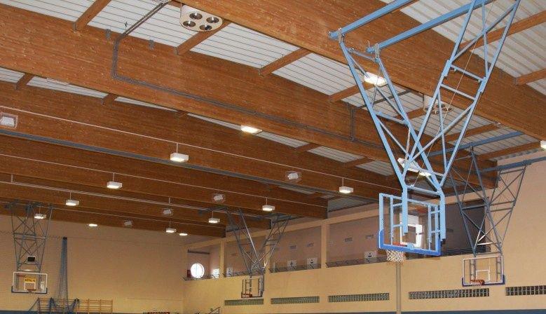 Vybavenie športovej haly