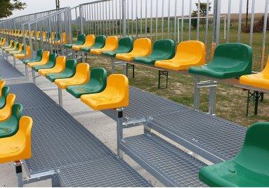 Tribúny pre športoviská a štadióny